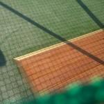 Zakościele kort tenisowy